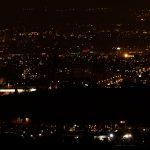 Nachtfoto Cern Geode.